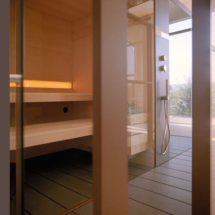 39 best External- gym sauna room images on Pinterest Bathroom - sauna im badezimmer