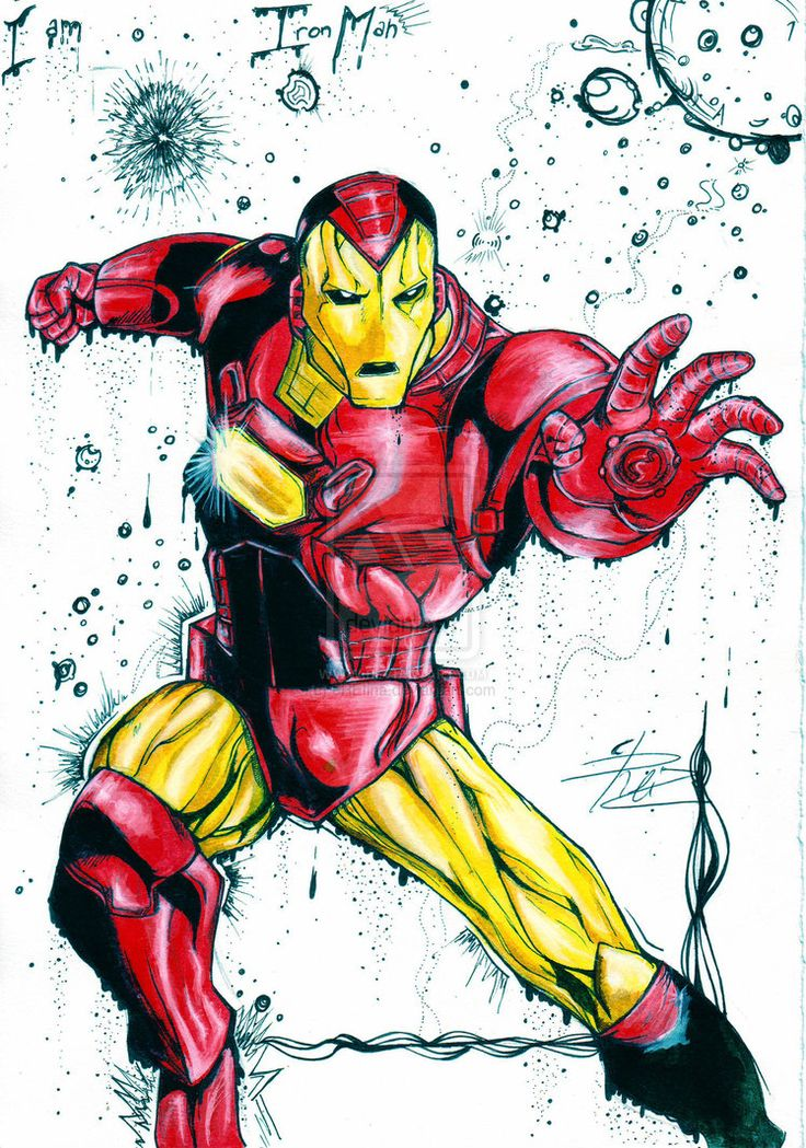 Iron Man by eREIina on DeviantArt