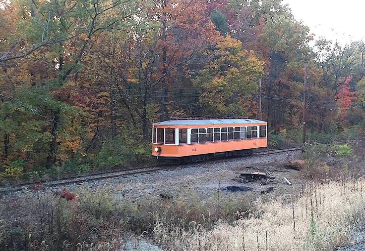 Trolley rides through a beautiful forest are rare. That's why you need to take a weekend to visit to the Ohio Railway Museum in Worthington, Ohio.
