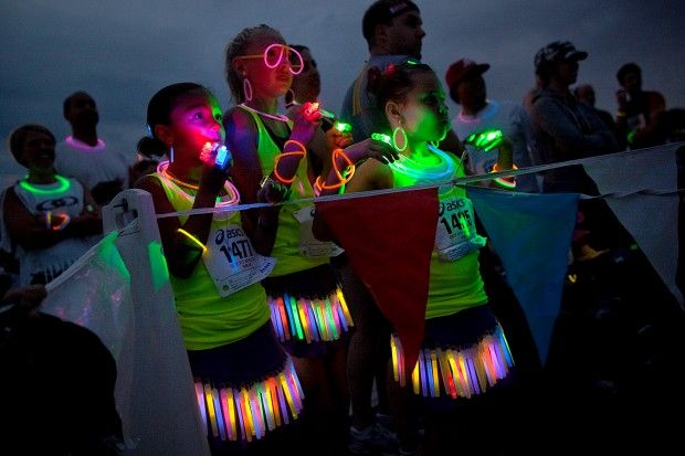 Totally going to do this for the glow run when it comes to Tulsa!