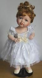 куклa  芭蕾舞裙的洋娃娃(超可愛)陶瓷娃娃