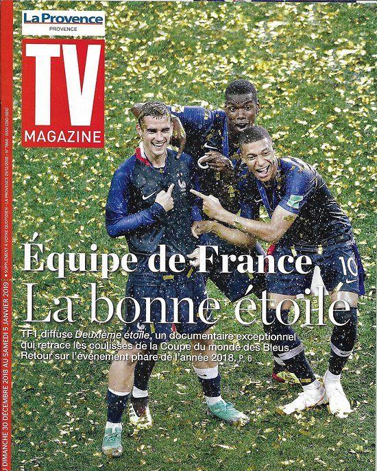 TV MAGAZINE 30/12/2018 Equipe de France/ Scènes de ménage