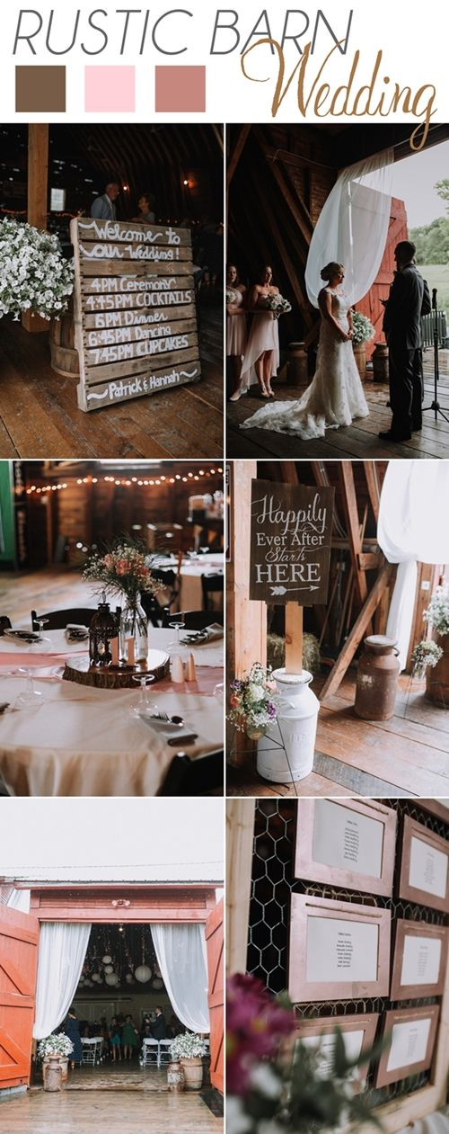 Rustic Barn Wedding in Vermont. Photos by RKM Photography  #rusticwedding #barnwedding