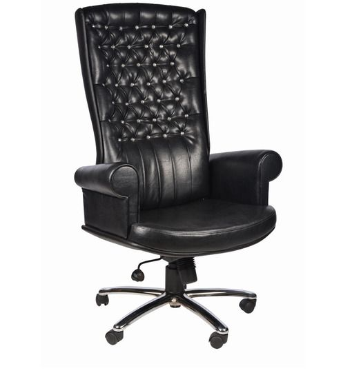 A touch of sophistication and luxury - these beautifully crafted executive leather chairs provide all that and more. Pepperfry.com offers chair designs that are suited for any professional set up. Choose from a wide range of comfortable executive office chairs online at Pepperfry.com.