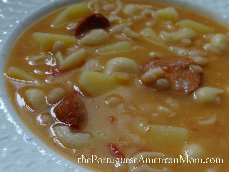 Portuguese Bean Soup (Molho de Feijão)