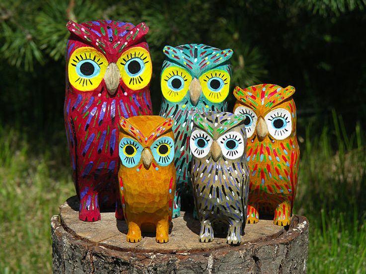 Owls Sculpture