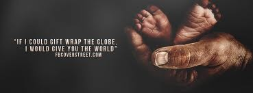 """""""He's got the whole world in his hands..."""""""