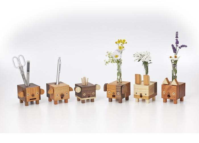 cute wood made figure