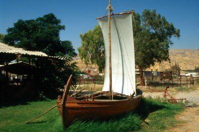 Fishing Boat - Galilee 1st Century by jdpulfer, via Flickr
