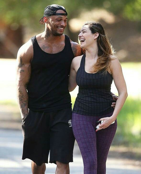 Kelly Brook and Boyfriend