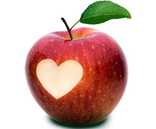 Manzana para el corazón