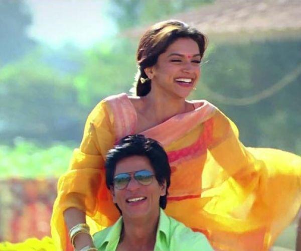 Shahrukh Khan and Deepika Padukone - Chennai Express (2013) Source: buzzintown.com