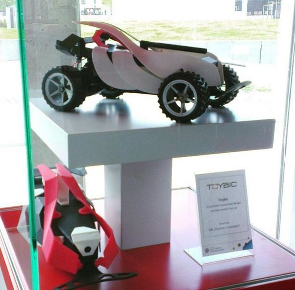 A Lithuanian startup is launching an online design platform called TOYBIC where children and their parents can work together to create custom RC car models and then order the 3D printable parts to make them at home.