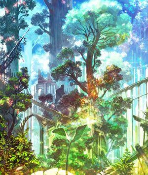 二次元退廃的だけど神秘的な廃墟の画像イラスト壁紙 Naver まとめ