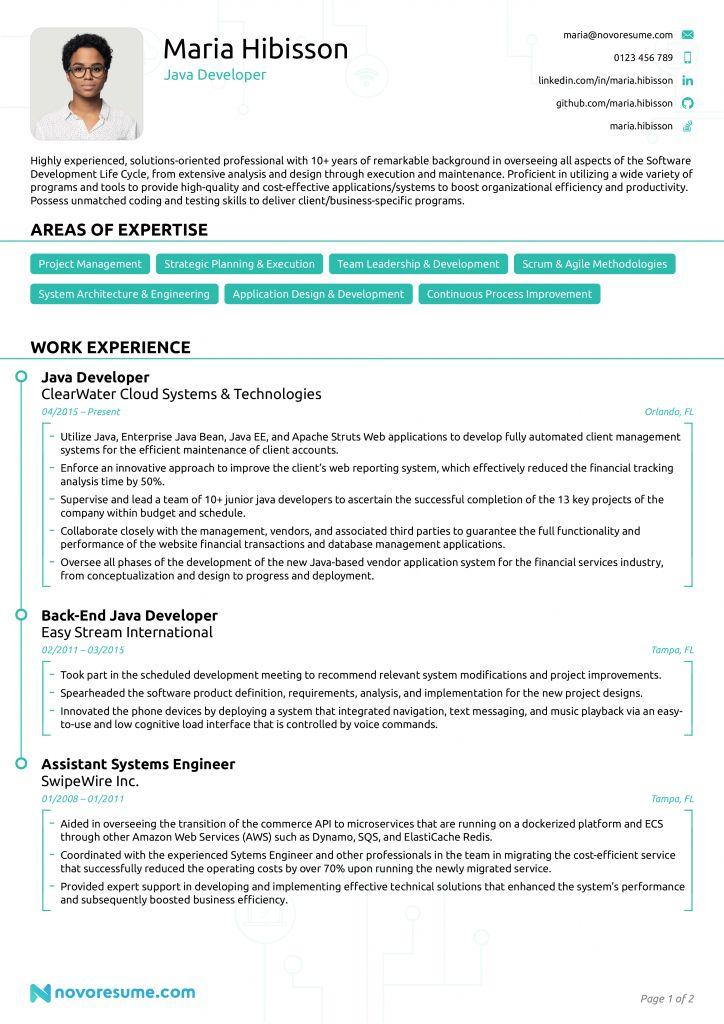 Core Java Developer Resume Sample 2021 Corejavadeveloperresumesample Corejavadeveloperresumesampleforfresher In 2021 Best Resume Format Resume Format Resume