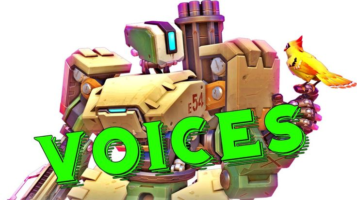 Bastion: All Voice Lines - Overwatch Voice Actors Overwatch Characters l...