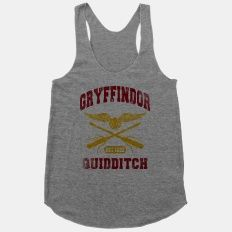 Gryffindor Quidditch (Vintage Tank) | HUMAN | T-Shirts, Tanks, Sweatshirts and Hoodies