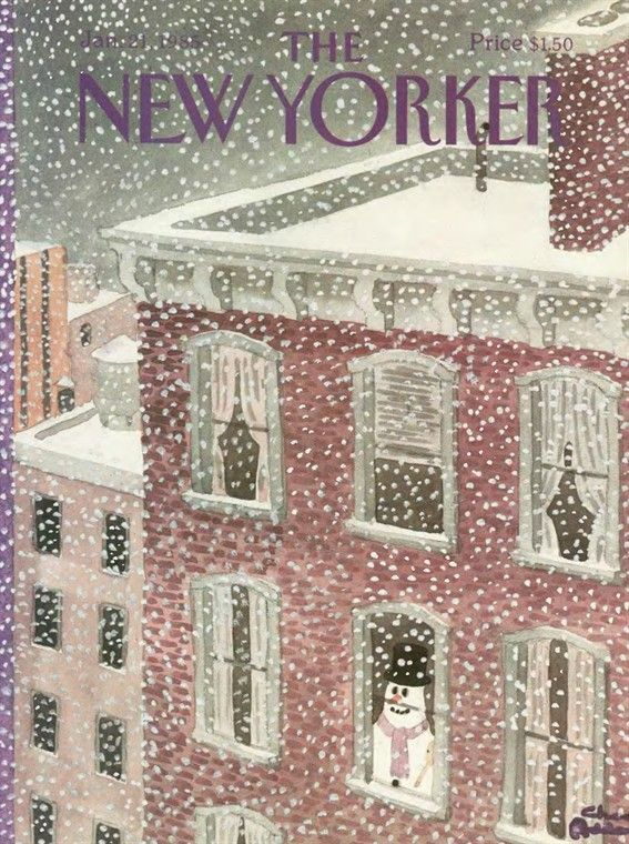 The New Yorker (Jan. 21, 1985) / by Charles Addams