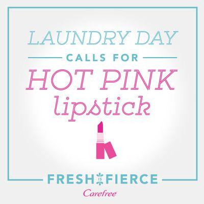 Feel fierce whenever you want to, even in sweatpants. #FreshIsFierce