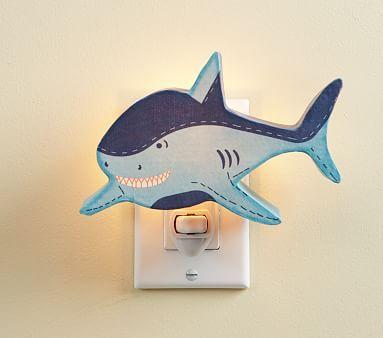 Shark Nightlight #pbkids
