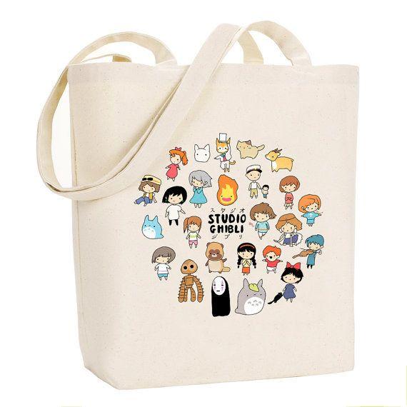 Bolsa de personajes kawaii.   47 Productos completamente adorables de Studio Ghibli que necesitas inmediatamente