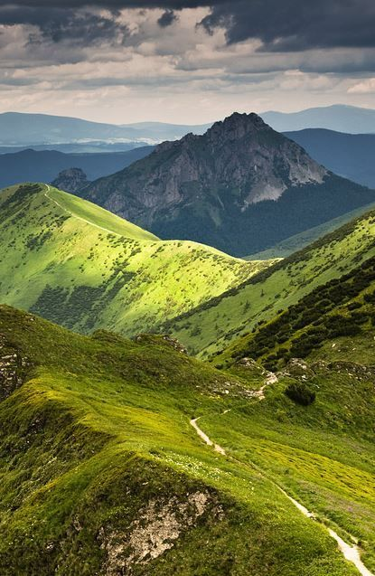 Picturesque Malá Fatra mountains is without a doubt one of the most beautiful unspoiled regions in central Europe. Explore the hiking trails that will lead you across the spectacular peaks... #hiking #malafatra #Slovakia Photo by Jakub Polomski via 500px.com