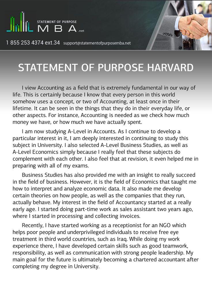 harvard mba essay examples