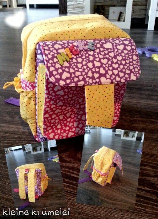 ein Kita Rucksack zum ersten Geburtstag für meine kleine Prinzessin
