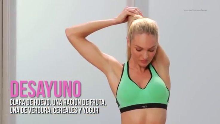 Así es la dieta de los ángeles de Victoria's Secret - YouTube
