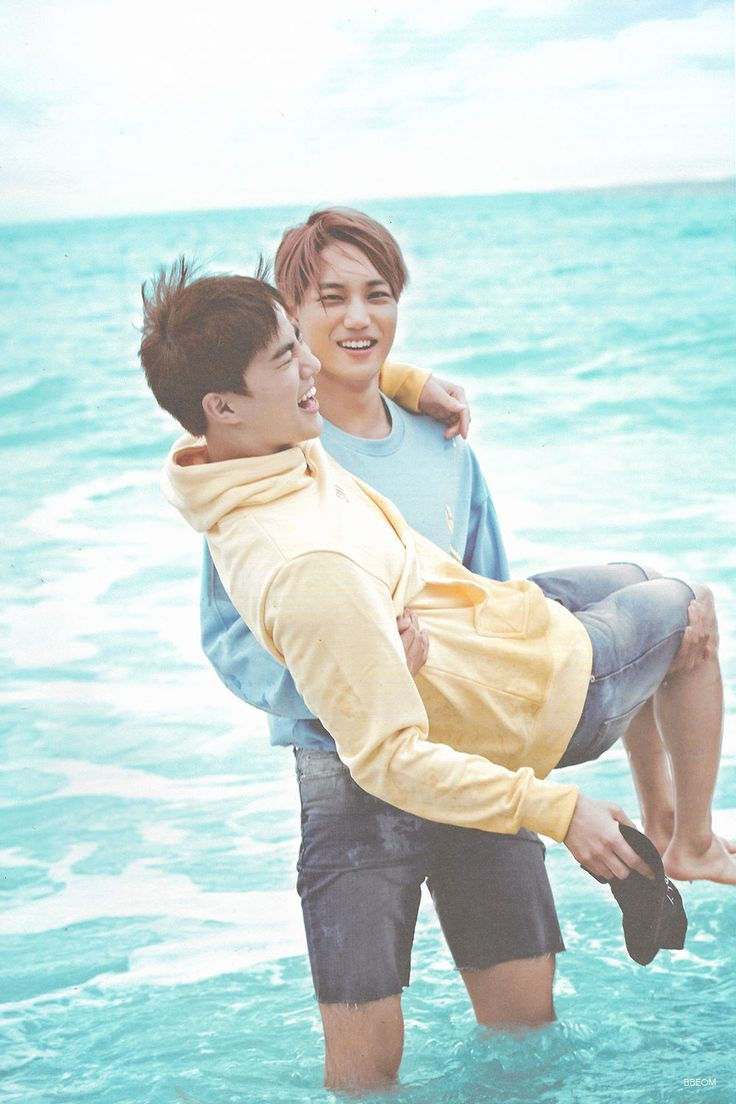SCAN #Kai #Suho #EXO Dear Happiness #Photobook
