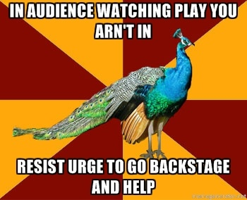 Everytime! and Sometimes I find myself standing outside the backstage doors looking wishfully