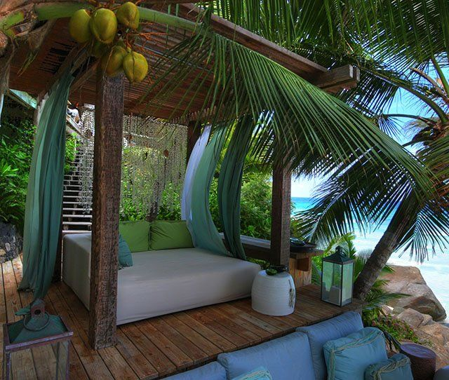 Fancy - North Island Resort @ Seychelles: Outdoor Beds, Dreams Houses, Islands Resorts, Lounge, Best Quality, Patio, Tropical Paradis, North Islands, Heavens