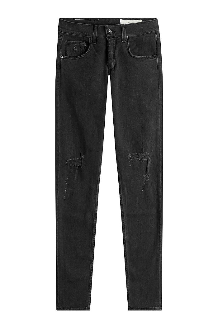 Slim-Jeans im Distressed-Look detail 0