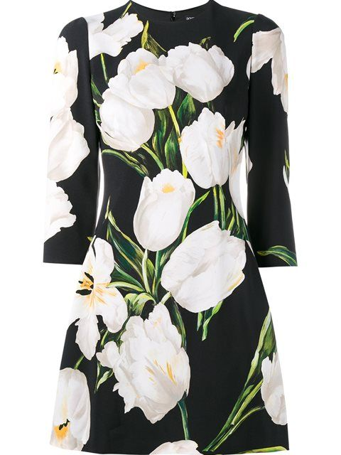 Shop Dolce & Gabbana floral print dress in Spinnaker Alassio from the world's best independent boutiques at farfetch.com. Shop 400 boutiques at one address.