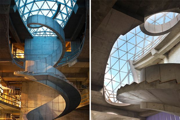 Salvadore Dali Museum in Florida, United States. This has just increased my love for amazing staircases :): Photos, Spirals Staircases, Favorite Places, St. Petersburg Florida, Salvador Dali Museums, Dali Museum08Pictur, St Petersburg Florida, Architecture, Favorite Spaces