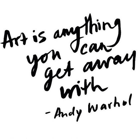 Andy Warhol Quote                                                                                                                                                                                 More