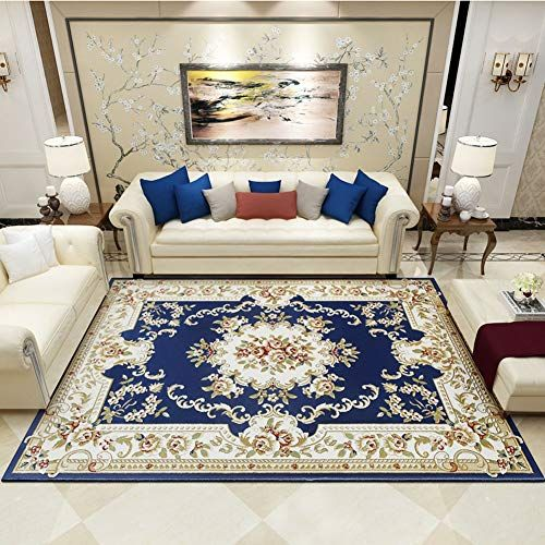 Chihen Jacquard Rugs Luxurious Printed Carpet Palace Classical Mat For Living Room Bedroom Multi Style 10mm Th In 2020 Living Room Bedroom Living Decor Printed Carpet