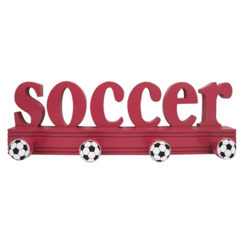 Soccer Peg Wall Hook   You Could Make This A DIY Project And Change The  Sport