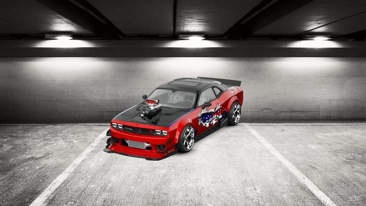 #TrueAmericanMuscle Checkout my tuning #Dodge #Challenger 2109 at 3DTuning #3dtuning #tuning