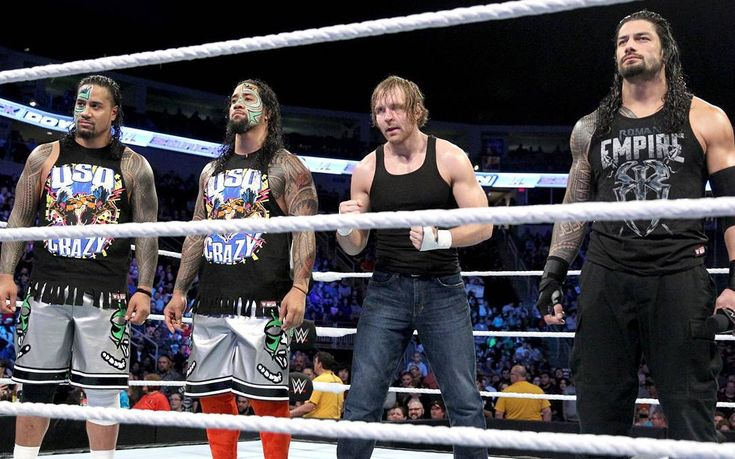 The Family (Roman Reigns, Dean Ambrose and The Usos)