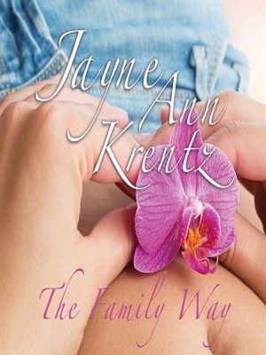 The Family Way by Jayne Ann Krentz (adult fiction).  Read by Laural Merlington.  Unwilling to force her live-in love Case McCord into a proposal of marriage, a pregnant Pru Kenyon decides to walk away from the man she loves, not telling him that she is expecting his baby, but she never bargained on how much Case is willing to do for love.