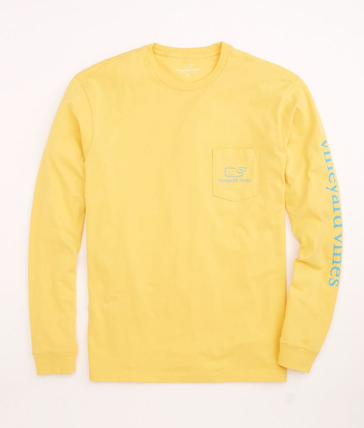 Yellow T Shirt Long Sleeve Is Shirt