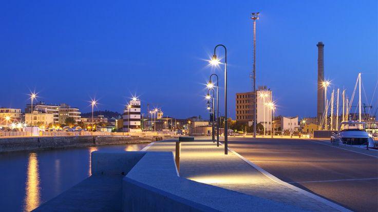 Porto di Senigallia - Vista notturna