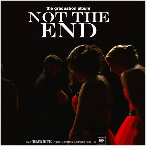 Glee: The Graduation Album | Not The End Alternative Cover