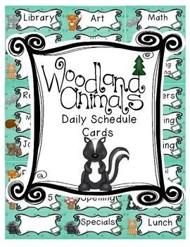 Freebie for 1 day only! I am doing a forest theme in my classroom this year! These schedule cards are just one of many product I will be creating this summer and I wanted to share with you. Check out my store for more coordinating products. They are sold individually and in a growing bundle.