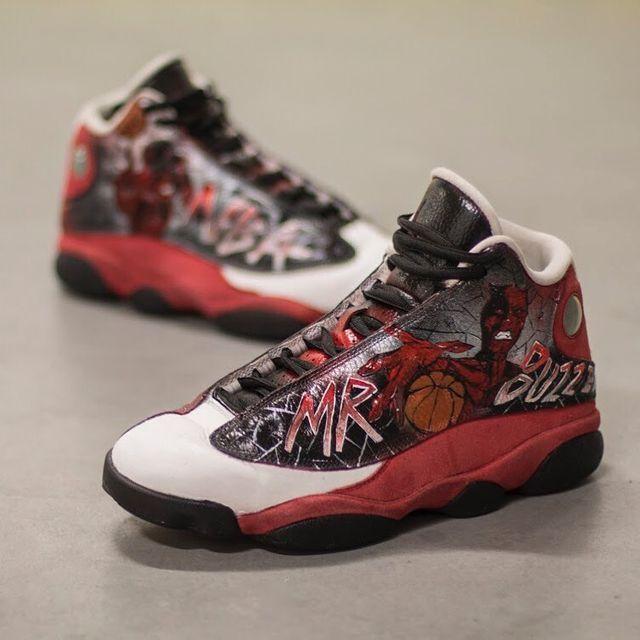 @mrbuzzerpl knows how to play the game ⛹🏻♂️ . . . . . #jordans #basketball #betoniaki #drshoespl #poznan #poland #angelusdirect #basketballshoes #basketball🏀 #aceofcustoms #nba #koszykówka #ball #whyweplay #passion #sport #fitness #custom #hypebeast #sneakerhead #sneakers #kicks #nikeairjordan #dziewczynywjordanach #customshoes #buzzerbeater #kicksonfire #airjordan
