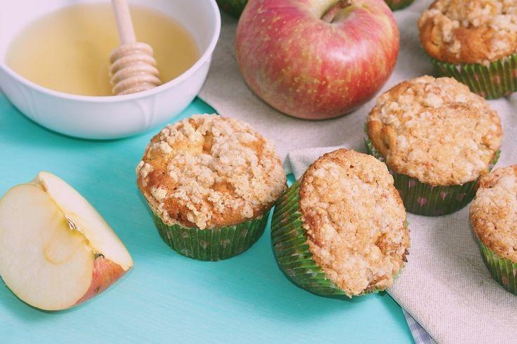 Muffins aux pommes...facile, rapide et tellement délicieux