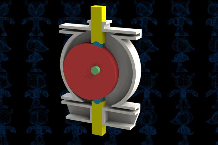 Steam Engine IV Mechanisnm - STEP / IGES,SOLIDWORKS,Parasolid - 3D CAD model - GrabCAD