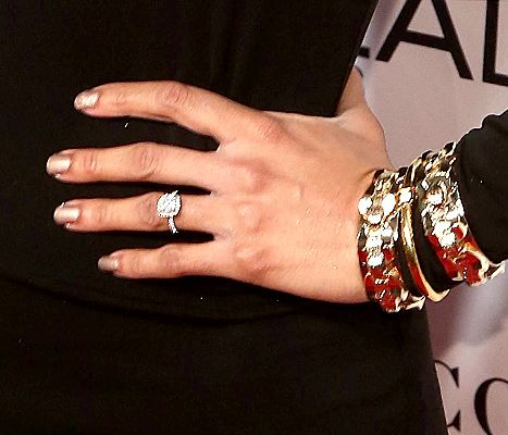 Misty Copeland, bracelet detail, ring detail, nail detail, attends Glamour's 25th Anniversary Women Of The Year Awards at Carnegie Hall on November 9, 2015 in New York City.