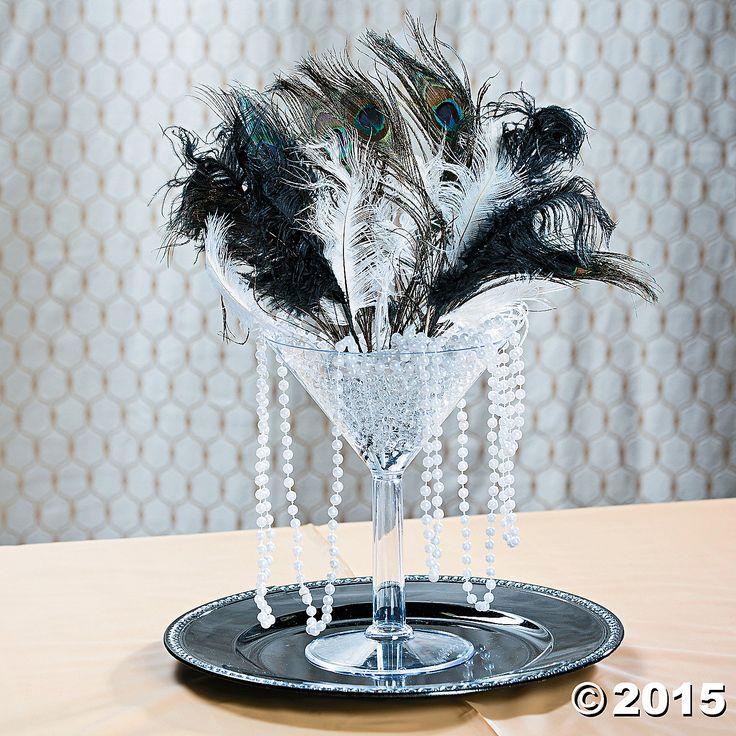 Roaring 20s Centerpiece Idea - OrientalTrading.com